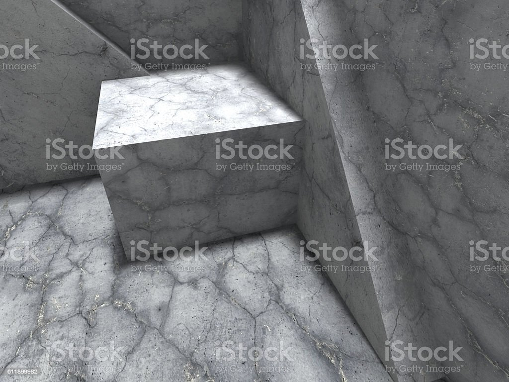 Abstract architecture concrete construction urban background stock photo