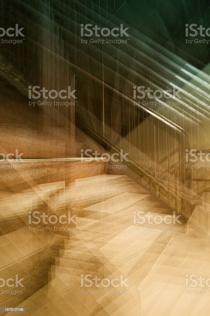 Abstract Architecture Interior royalty-free stock photo