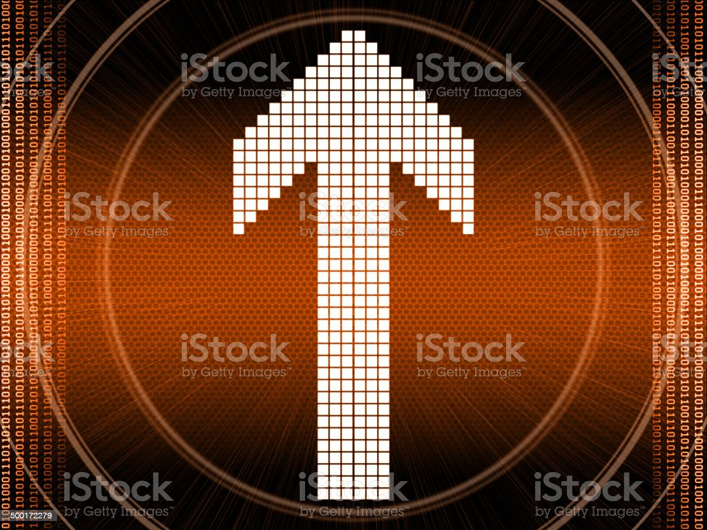 abstract arrows background royalty-free stock photo