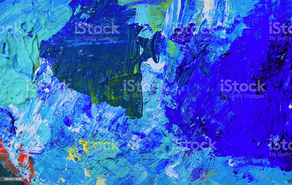 Abstract art background. Oil painting on canvas. stock photo