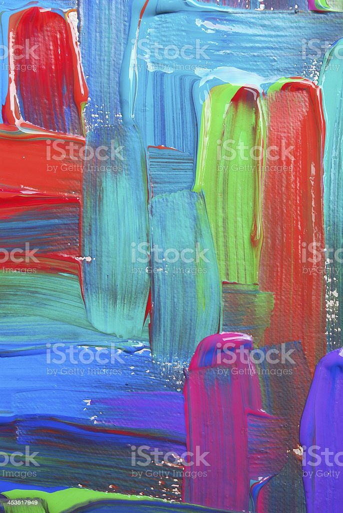 Abstract art backgrounds. Hand-painted background. SELF MADE. royalty-free stock vector art