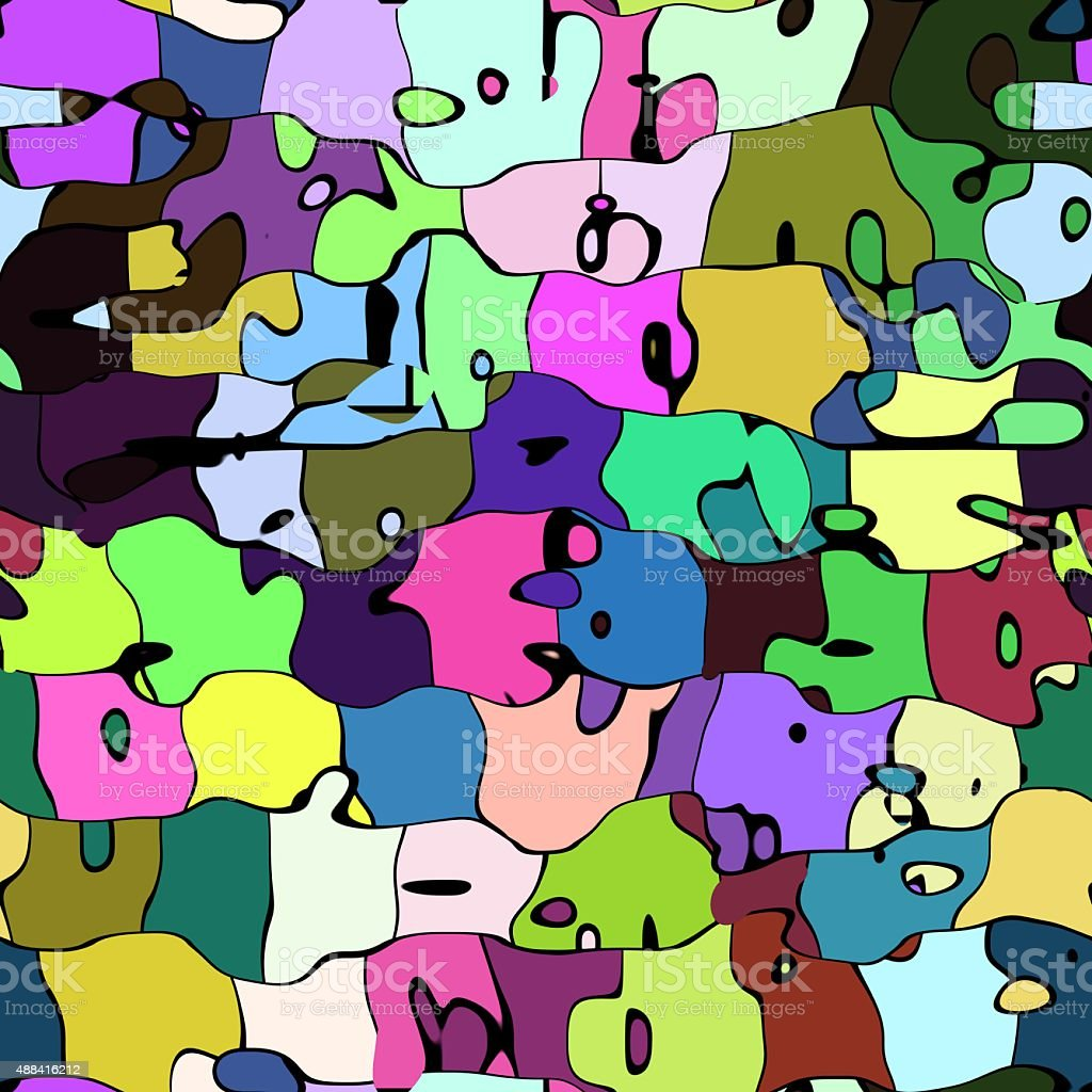 Abstract artistic colorful background stock photo