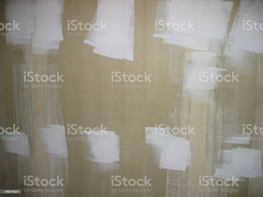 Abstract Art...Ready to Paint royalty-free stock photo
