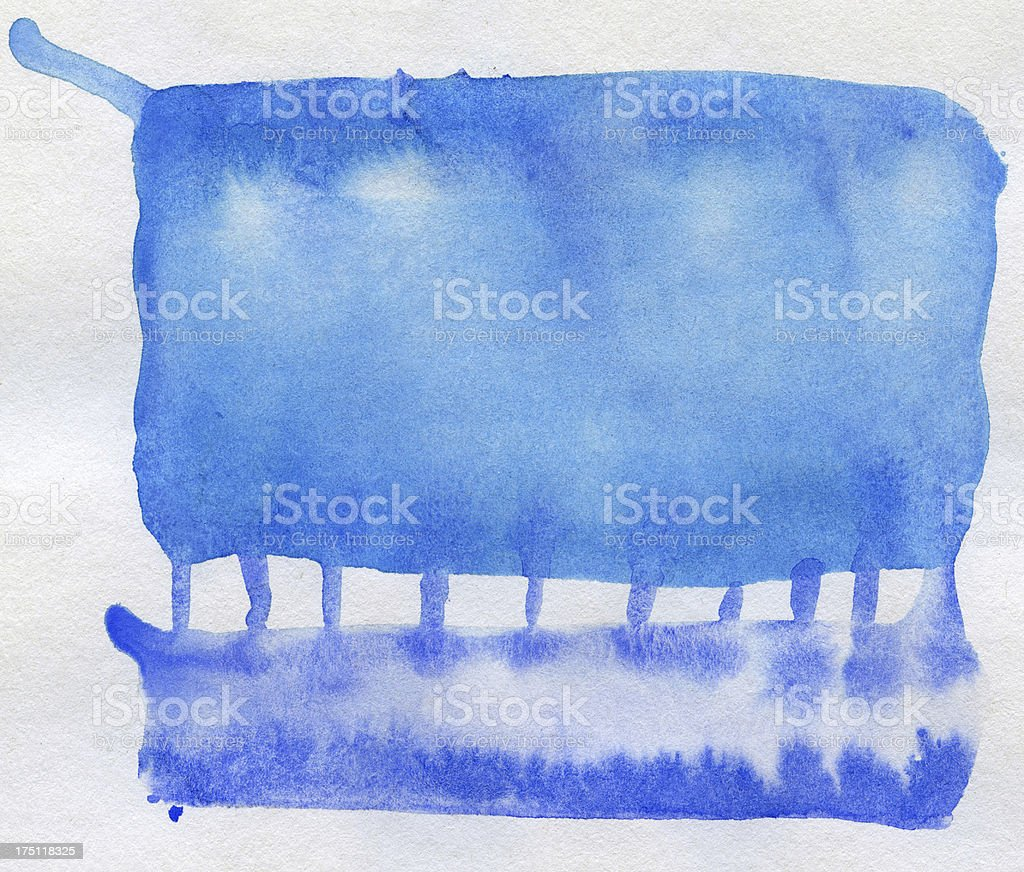 Abstract arts background stock photo