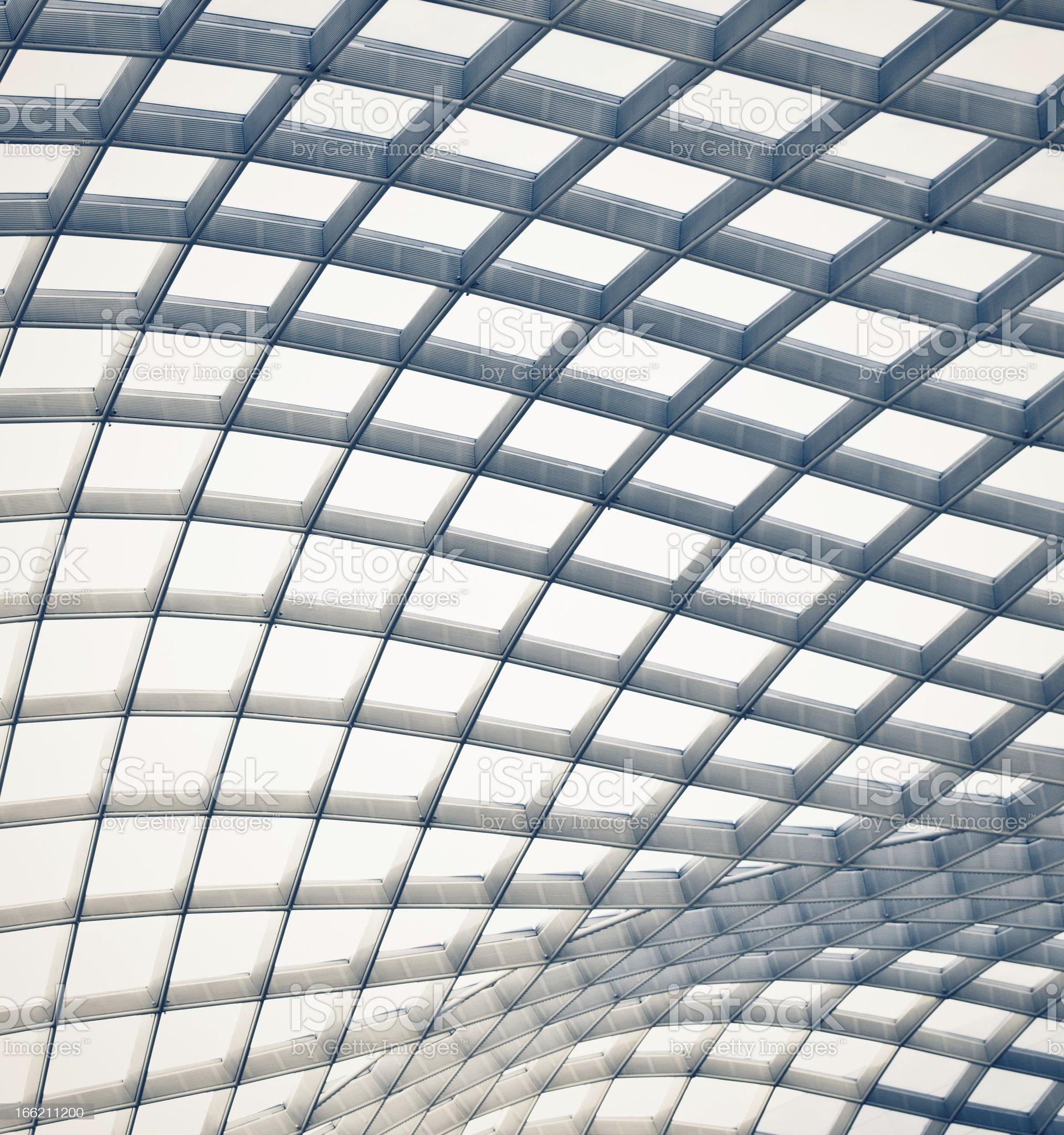 Abstract Atrium royalty-free stock photo