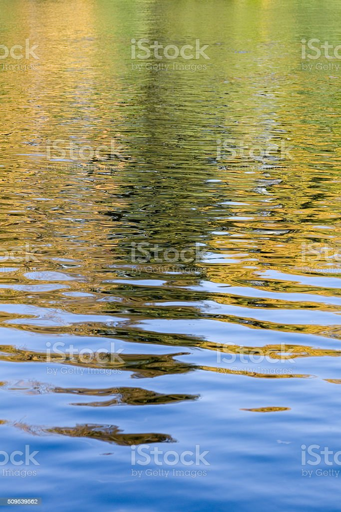 Abstract autumn background stock photo
