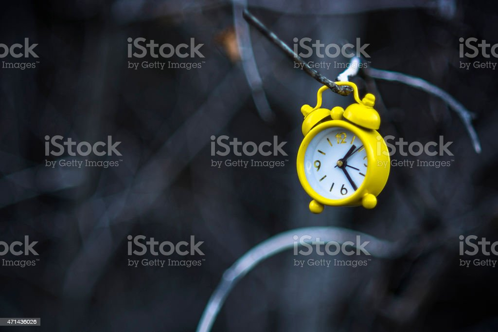 Abstract autumn view stock photo