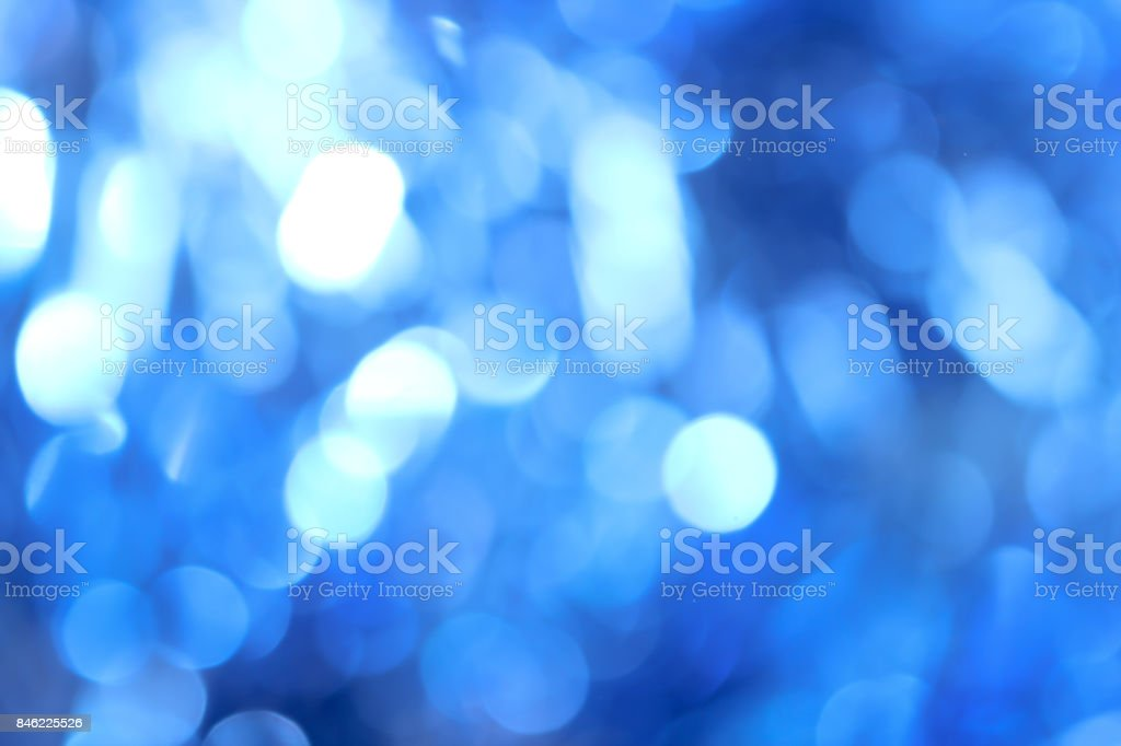 abstract background. beautiful blue bokeh stock photo