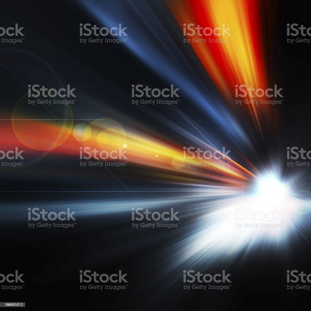 Abstract background, Beautiful rays of light royalty-free stock photo