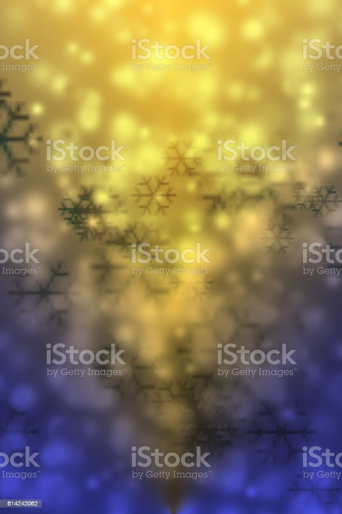 Abstract background bokeh for Christmas, New Year, holiday. stock photo