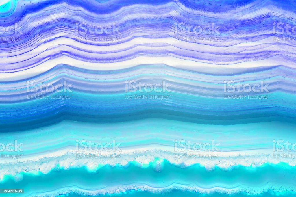 Abstract background - colorful agate slice mineral stock photo