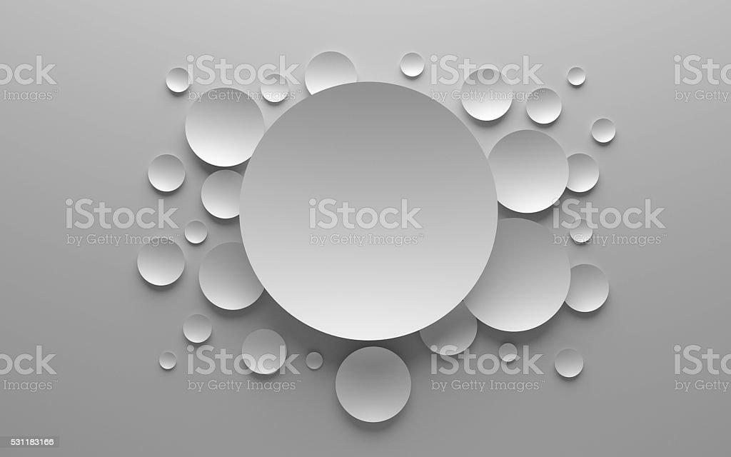 3D abstract background composition stock photo