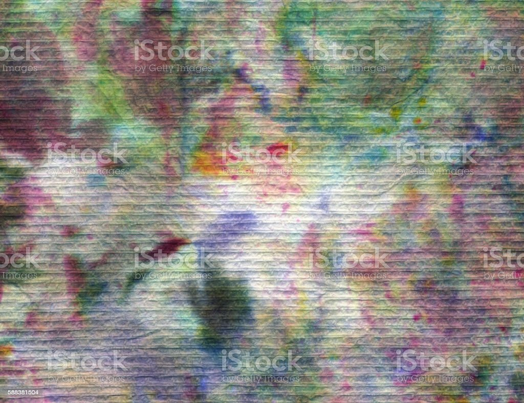 Abstract background created with multiple colors on fiber stock photo