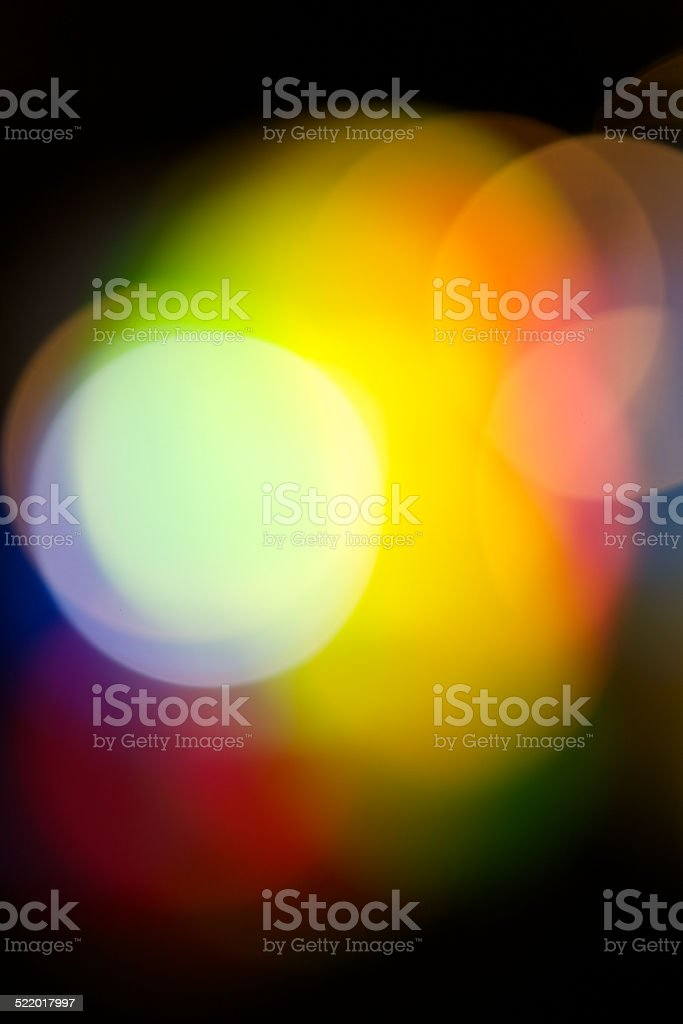 abstract background in warm tone with black border stock photo