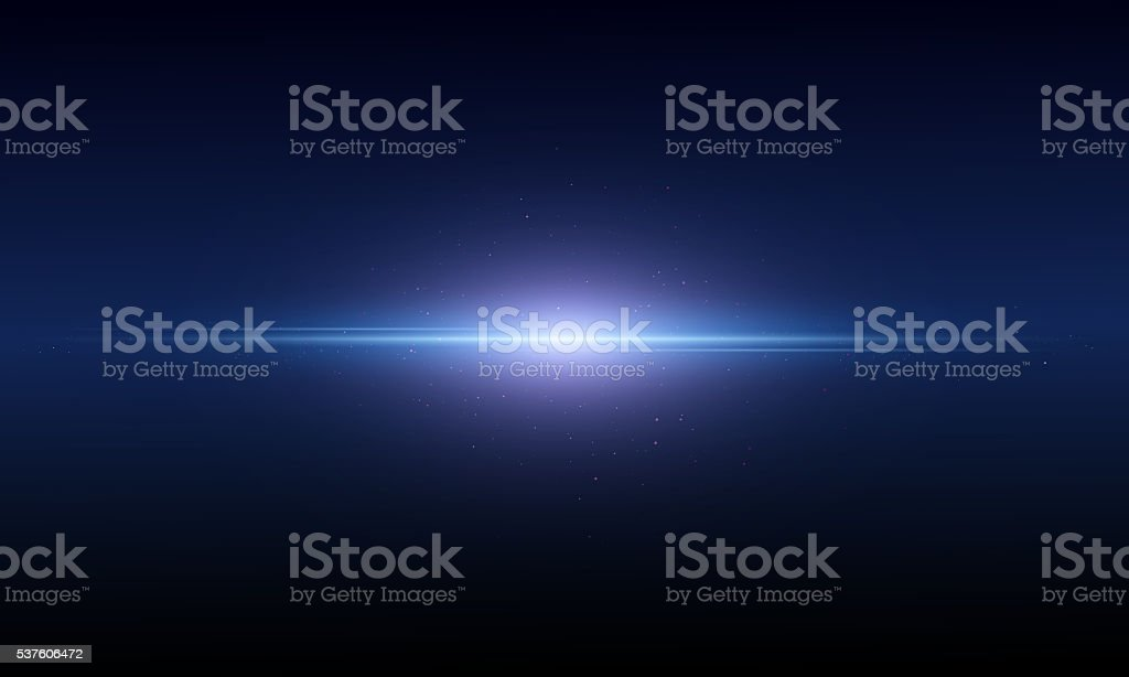 Abstract background is showing a flash of light space stock photo