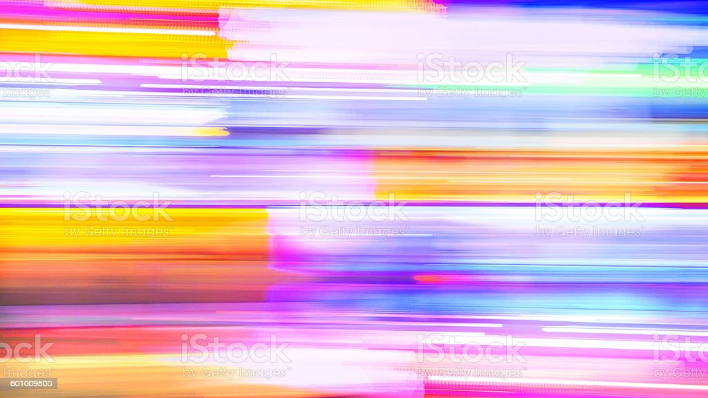 Abstract Background - Neon Lights in New Orleans stock photo