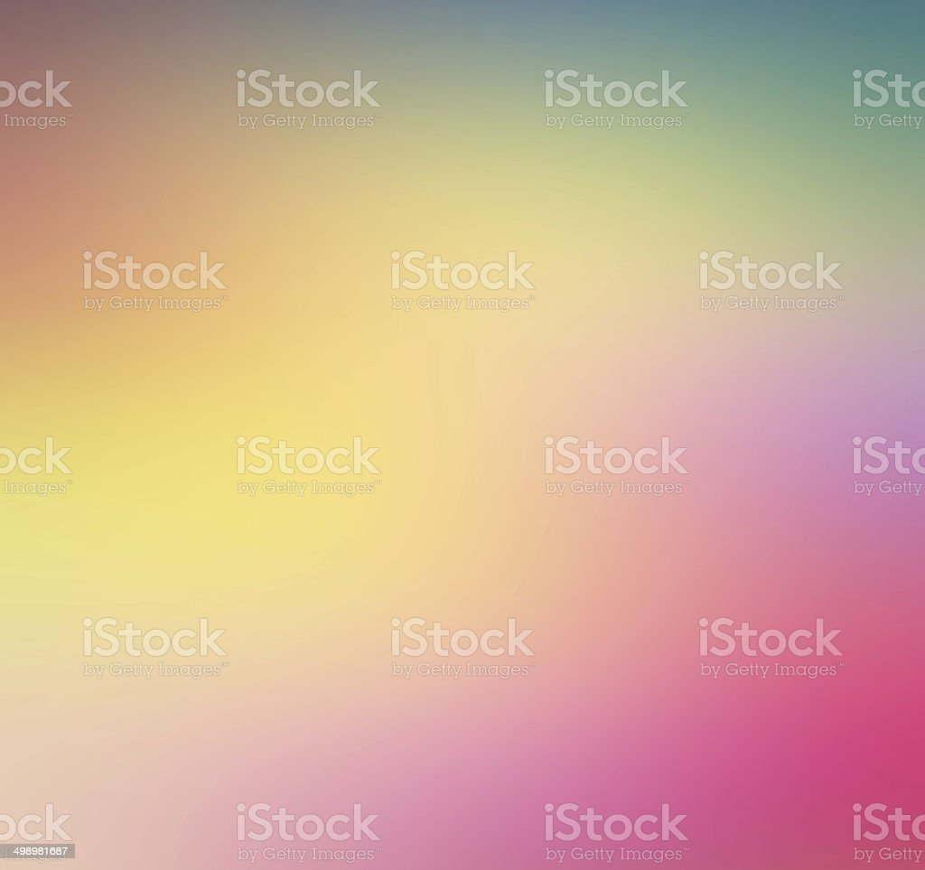 abstract background of blurred rainbow colors stock photo