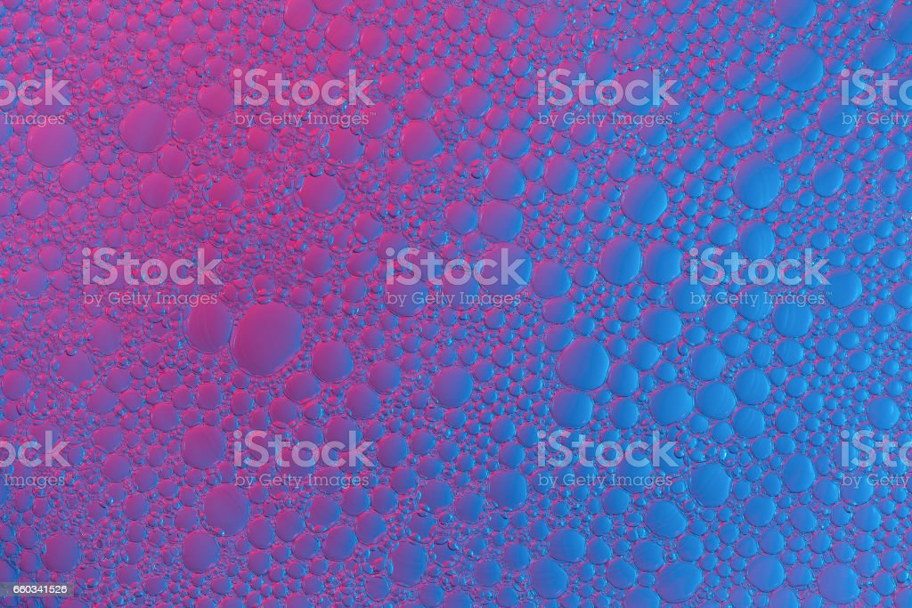 Abstract background of colour bubbles stock photo
