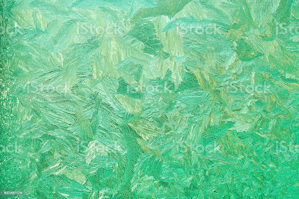 Abstract background of ice patterns stock photo