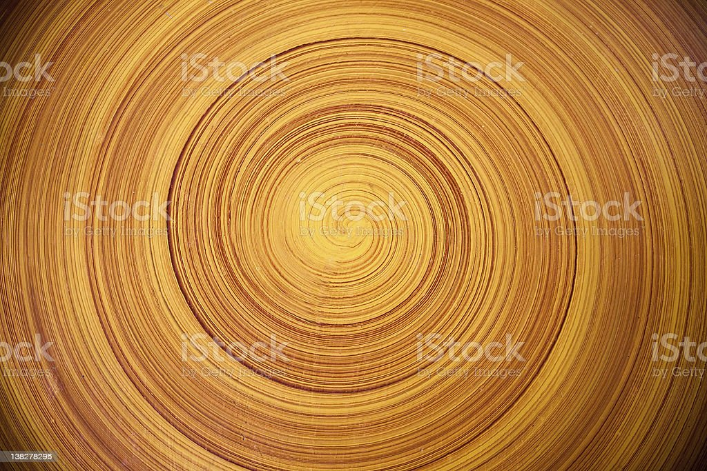 Abstract background of Swirl Tree ring or wood log stock photo