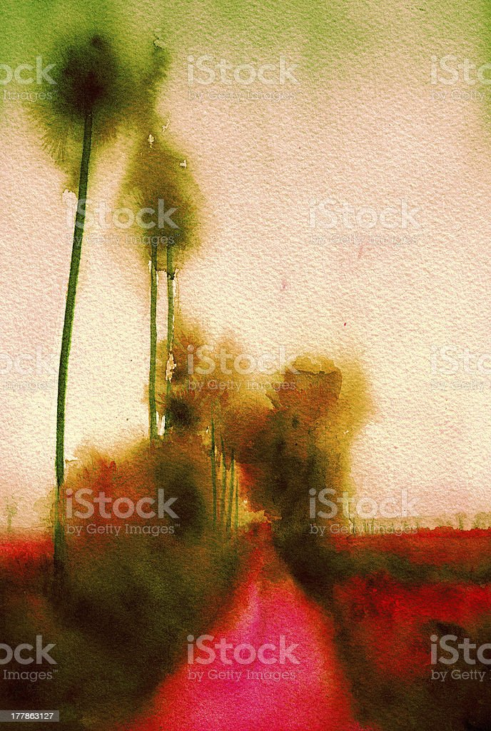 abstract background painting royalty-free stock photo