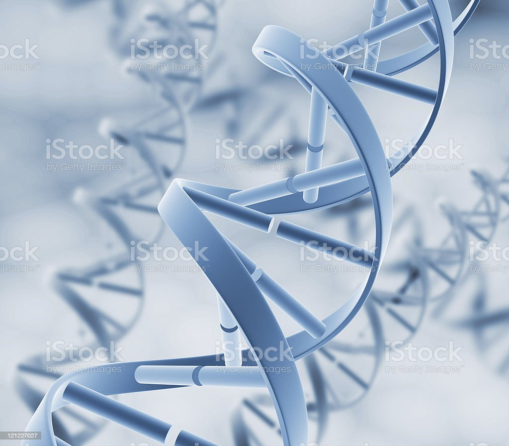 DNA. Abstract background royalty-free stock photo