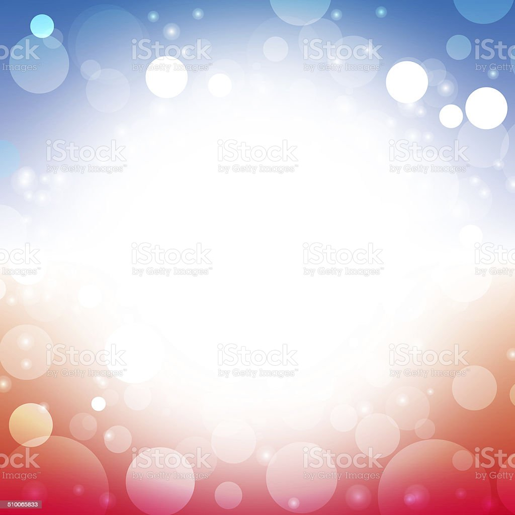 USA abstract background stock photo