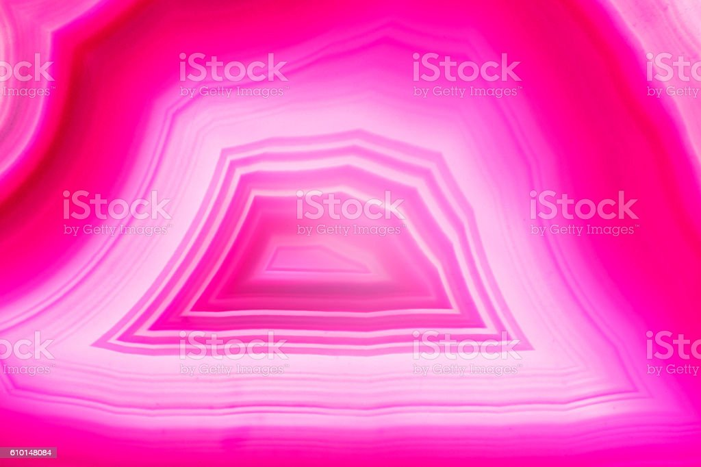 Abstract background - pink agate slice mineral stock photo