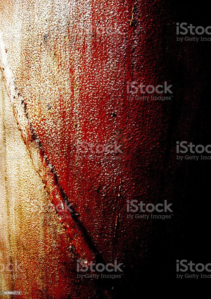 Abstract background - Rusty Pipe stock photo