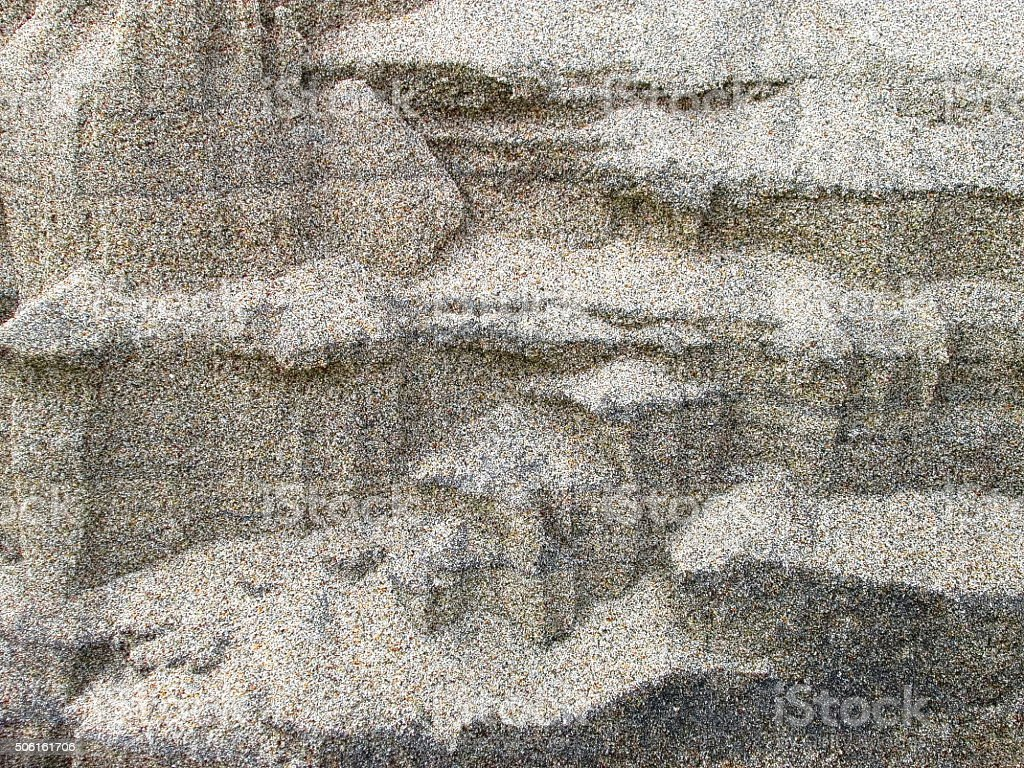 Abstract Background, Sand Walls, Patterns, Macro, Ocean Beach Patterns stock photo