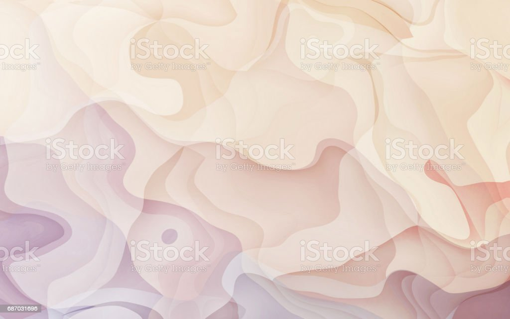 Abstract background Watercolor Soft pink and curve Art stock photo