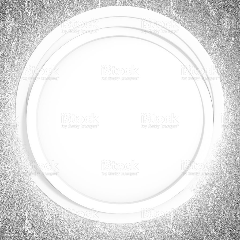 Abstract background white circle vector art illustration