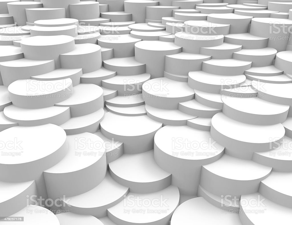 abstract background white circles stock photo