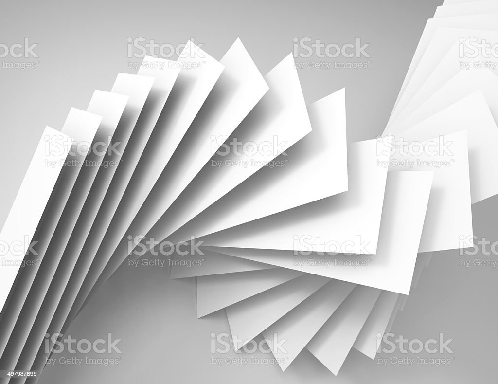 abstract background white papers stock photo