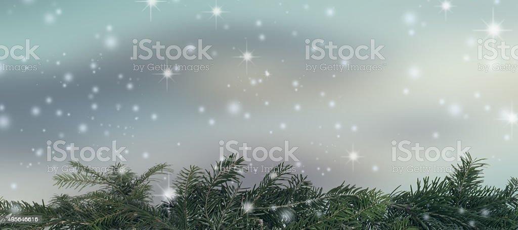 Abstract background winter season stock photo