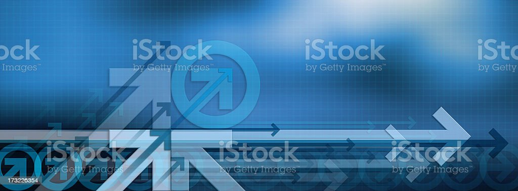 Abstract Background with Arrows 13 royalty-free stock photo