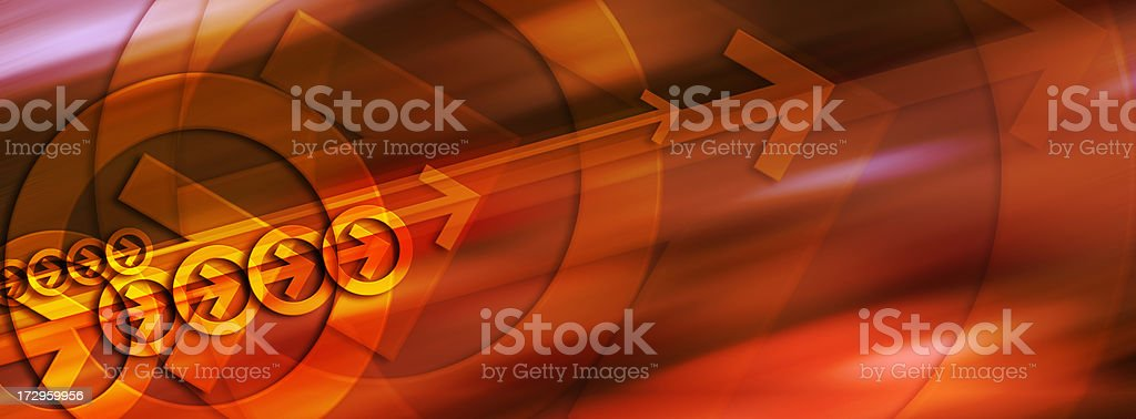 Abstract Background with Arrows 2 royalty-free stock photo
