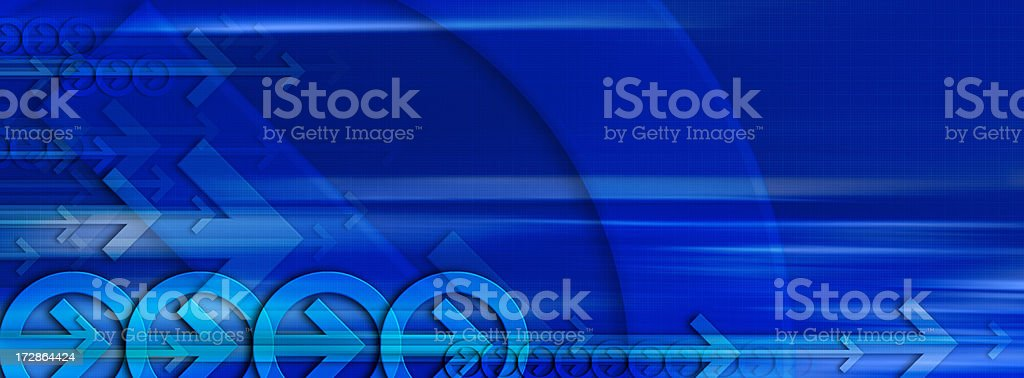 Abstract Background with Arrows 3 royalty-free stock photo