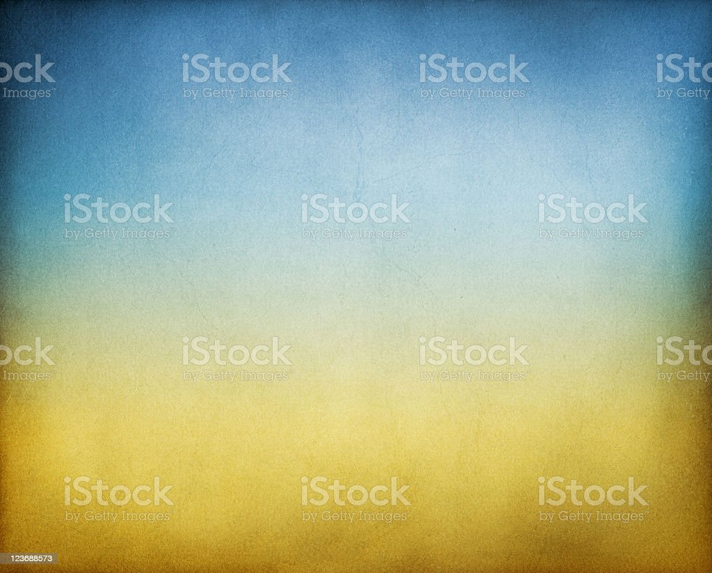Abstract background with blue and brown paper stock photo