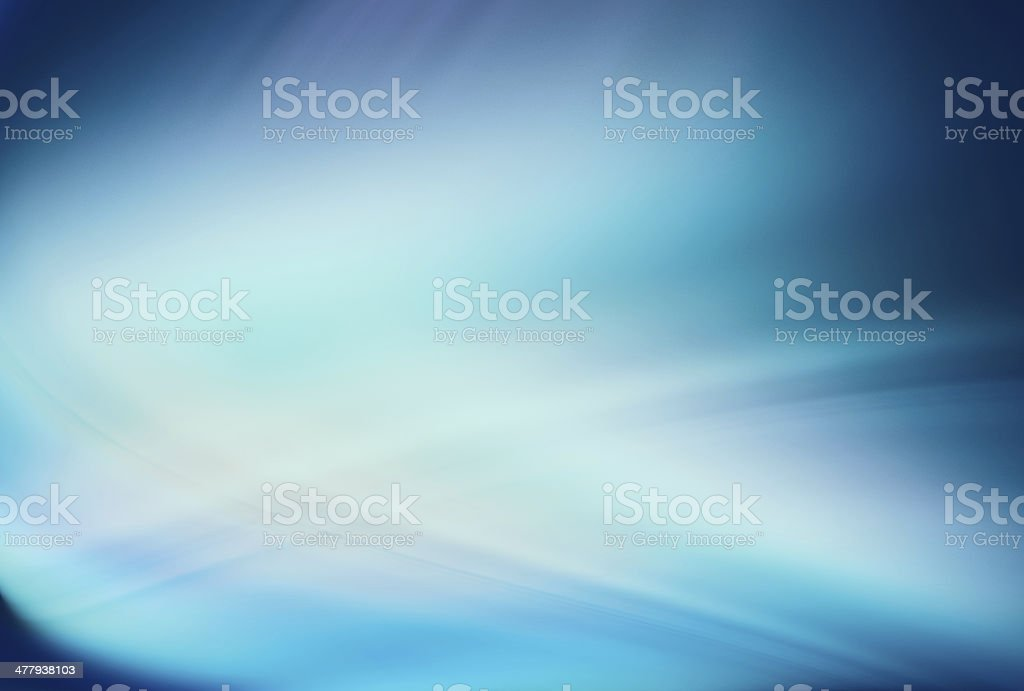 Abstract background with bluish light wave royalty-free stock photo