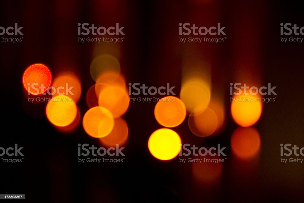 Abstract background with bokeh lights royalty-free stock photo