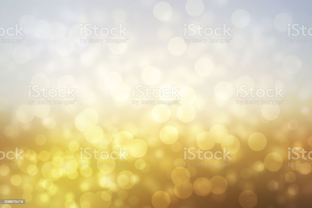 abstract background with bokeh lights stock photo