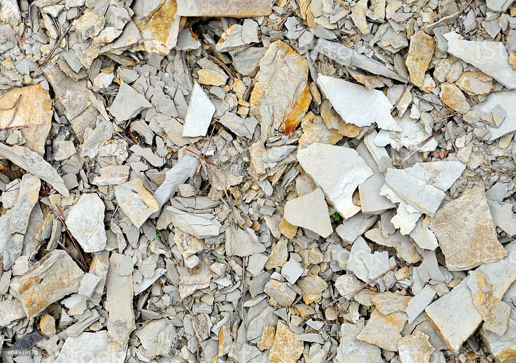 abstract background with broken stones stock photo