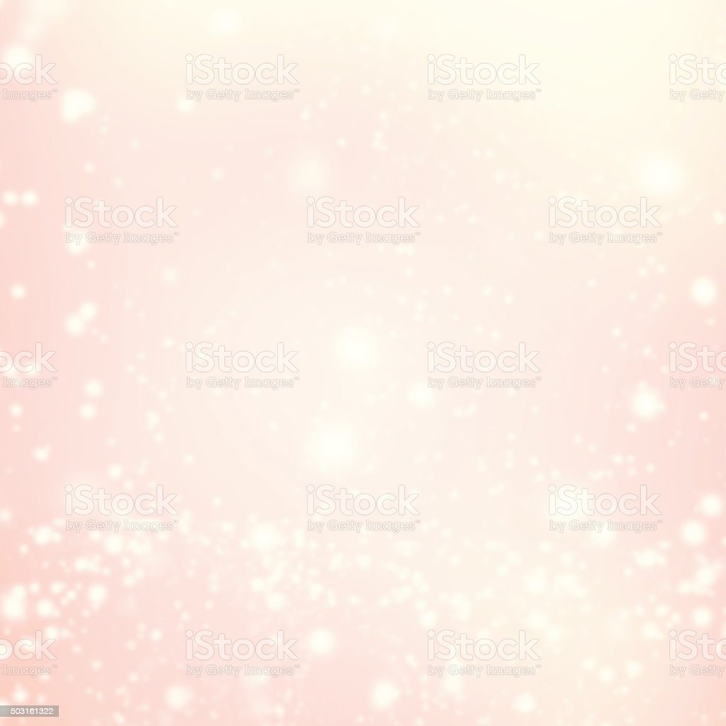 Abstract Background with Christmas Glitter Defocused Bokeh, Bl stock photo