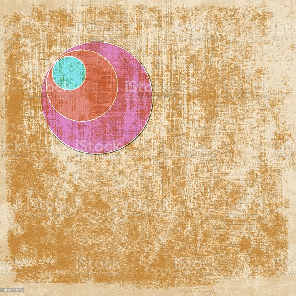 abstract background with circle elements royalty-free stock photo