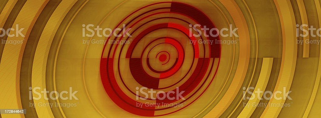 Abstract Background with Circles and Curves 8 royalty-free stock photo