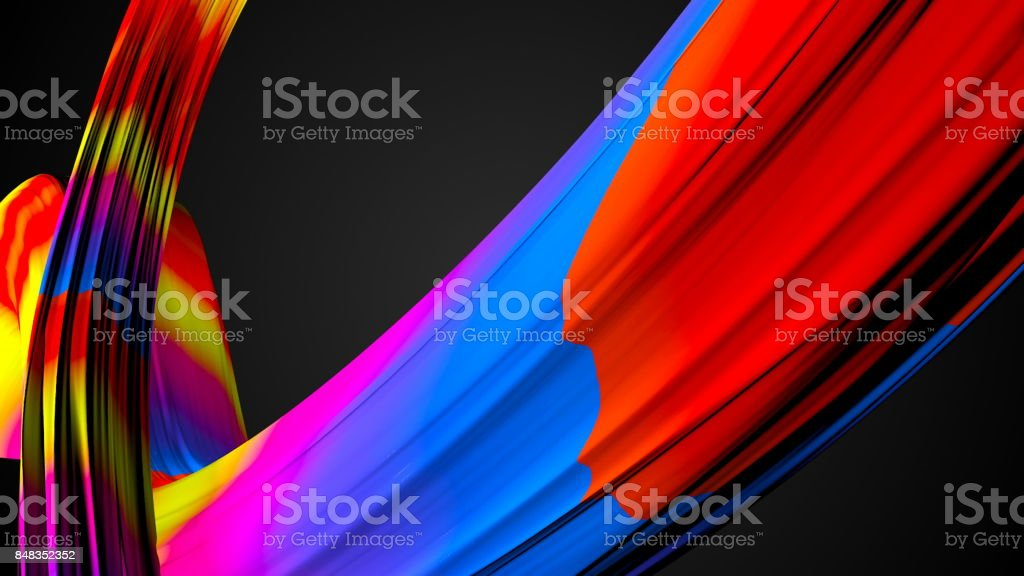 Abstract background with colorful elements stock photo