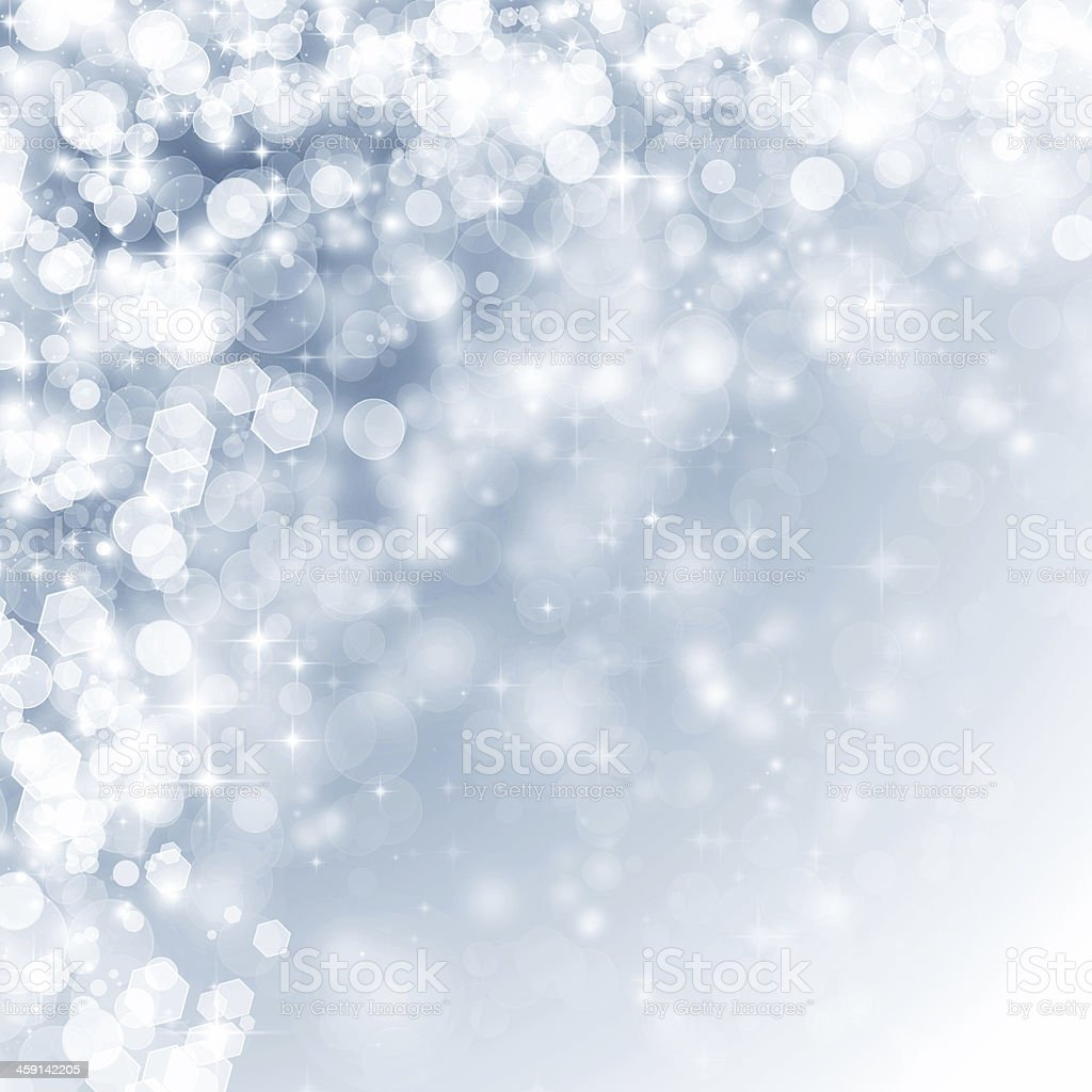 Abstract background with holiday lights stock photo