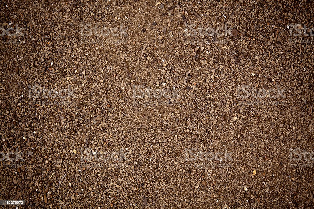 Abstract background with playground sand texture stock photo