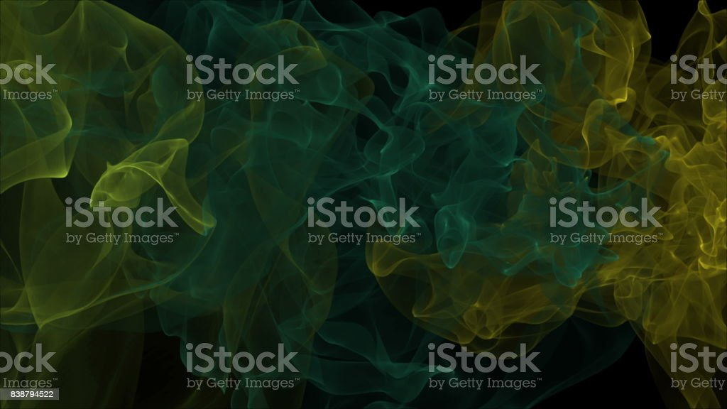 Abstract background with smoke stock photo